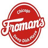 Froman's Chicago Deep Dish Pizza Logo