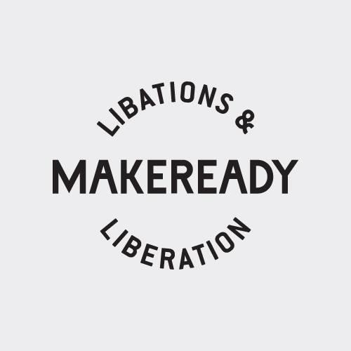 Makeready Libations & Liberation Logo