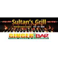 Sultan's Grill & Ginger Juice Bar Logo