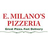 E' Milano's Pizzeria Logo