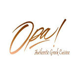 Opa! Authentic Greek Cuisine Logo
