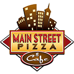 Main Street Pizza and Cafe Logo