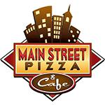 Main Street Pizza and Cafe Logo