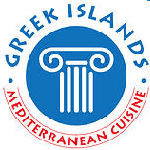 Greek Islands Mediterranean Cuisine Logo