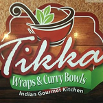 Tikka Wraps & Curry Bowls Logo