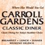 Carroll Gardens Classic Diner Logo
