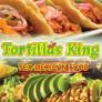 Tortillas king Tex-Mexican food Logo