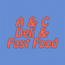 A and C Fast Food Logo