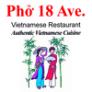 18 Vietnam noodle Logo