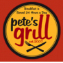 Pete's Grill - Sunnyside Logo
