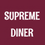 Supreme Diner - Queens Logo