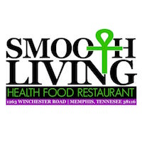 Smooth Living Health Food Restaurant Logo