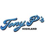 Tony P's Bar & Pizzeria Logo