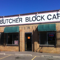 The Butcher Block Cafe (Washington St.) Logo