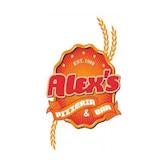 Alex's Pizzeria and Bar Logo