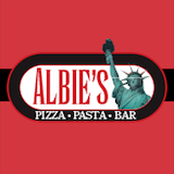 Albie's Pizza & Bar Logo