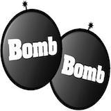 Bomb Bomb BBQ Grill & Italian Restaurant Logo