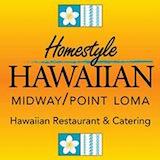 Homestyle Hawaiian Midway - Point Loma Logo