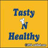 Tasty N Healthy Logo