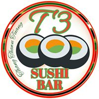 T3 Sushi Bar Logo