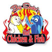 Big Shake's Hot Chicken & Fish Logo