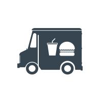 Momo Grill Food Truck Logo