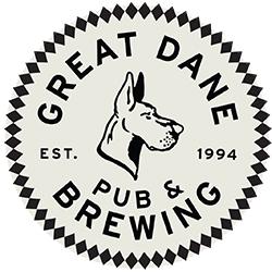Great Dane Pub & Brewing Company - Doty St Logo