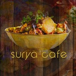 Surya Cafe - Garver Green Logo