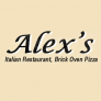 Alex's Pizza & Italian Restaurant Logo