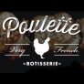 Poulette Rotisserie Chicken - Midtown East Logo
