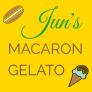 Jun's Macaron Gelato Logo