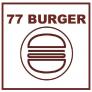 77 Burger Logo