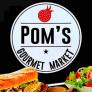 Pom's Gourmet Market Logo