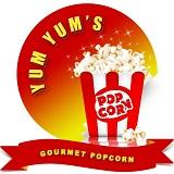 Yum Yum's Gourmet Popcorn Logo