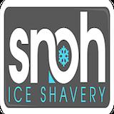 SNOH Ice Shavery Logo