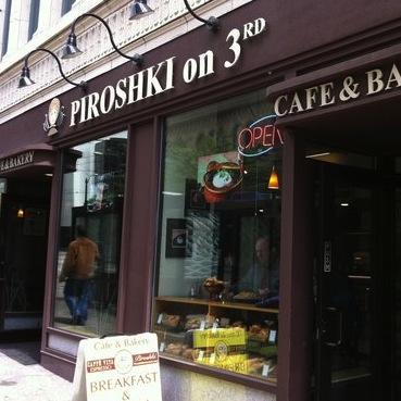 Piroshki on 3rd Logo
