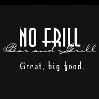 No Frill Bar & Grill Logo