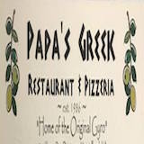 Papas Greek Family Restaurant Logo