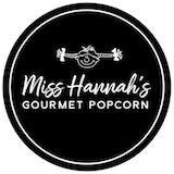 Miss Hannah's Gourmet Popcorn  Logo