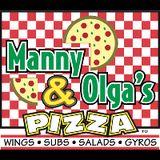 Manny & Olga's Pizza Logo