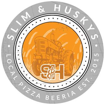 Slim & Husky's Pizza Logo