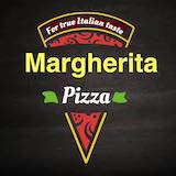 Margherita Pizza Logo