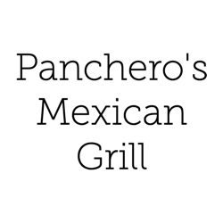 Pancheros Mexican Grill (3256 University Ave) Logo
