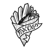 Maya's Fish and Chips Logo