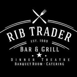 Rib Trader of Orange Logo