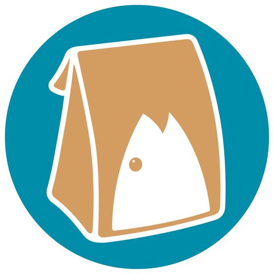 Brown Bag Seafood Co. (Randolph & Columbus) Logo