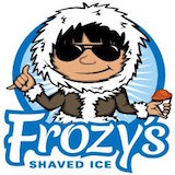 Frozy's Shaved Ice Logo