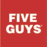 Five Guys NY-1620 56 West 14th St Logo