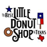 The Best Little Donut Shop in Texas Logo