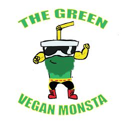 The Green Vegan Monsta Logo